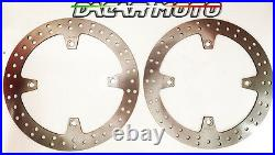 1050 Paire Disques Avant Honda XRV Africa Twin 750 RD07 1993 1994 1995