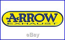 72605PD Arrow marm. E. 4t. Honda xrv 750'93-95 africa twin inox paris dakar omol