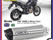 Arrow Aluminium Honda Africa Twin 1000 2016 Pot D