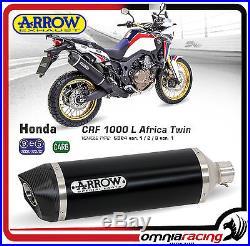 Arrow Aluminium Honda Africa Twin 1000 Pot D'Echappement Auspuff 72621AKN