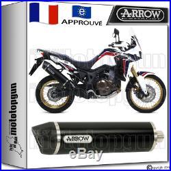 Arrow Echappement Maxi Racetech Black CC H Honda Crf 1000 Africa-twin 2016 16