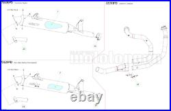 Arrow Ligne Complete Approuve Paris Dacar Honda Xrv 750 Africa Twin 1997 97