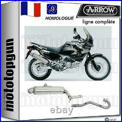 Arrow Ligne Complete Hom Nocat Paris Dacar Honda Xrv 750 Africa Twin 1997 97