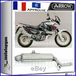 Arrow Pot D'echappement Paris Dacar Acier Hom Honda Xrv 750 Africa-twin 1994 94