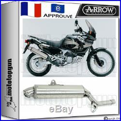 Arrow Pot D'echappement Paris Dacar Acier Hom Honda Xrv 750 Africatwin 2003 03
