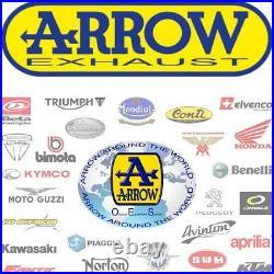 Arrow Pot Echappement Approuve Paris Dacar Honda Xrv 750 Africa Twin 1992 92