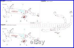 Arrow Pot Echappement Approuve Paris Dacar Honda Xrv 750 Africa Twin 1993 93