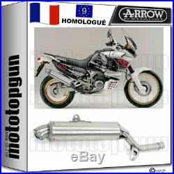 Arrow Pot Echappement Approuve Paris Dacar Honda Xrv 750 Africa Twin 1995 95
