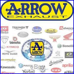 Arrow Pot Echappement Approuve Paris Dacar Honda Xrv 750 Africa Twin 1996 96