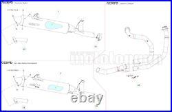 Arrow Pot Echappement Approuve Paris Dacar Honda Xrv 750 Africa Twin 2002 02