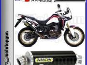 Arrow Pot Echappement Maxi Racetech Dark Hom Honda Crf 1000 Africa Twin 2016 16