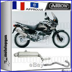 Arrow Silencieux Complete Paris Dacar Acier H Honda Xrv 750 Africa-twin 2004 04