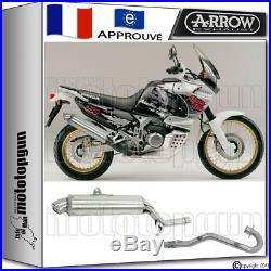 Arrow Silencieux Complete Paris Dacar Acier Hom Honda Xrv 750 Africatwin 1995 95
