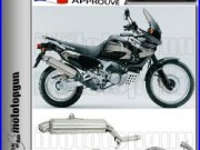 Arrow Silencieux Complete Paris Dacar Acier Hom Honda Xrv 750 Africatwin 2001 01