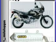 Arrow Silencieux Enduro Alumilite Alu Race Honda Xrv 750 Africa-twin 1999 99