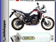 Arrow Silencieux Maxi Race-tech Alu Hom Honda Crf 1000 L Africa-twin 2016 16