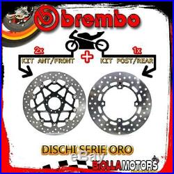 Brdisc-3628 Kit Disques De Frein Brembo Honda Crf L Africa Twin 2016- 1000cc Av