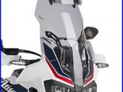 Bulle HP Puig Vario Honda Africa Twin CRF 1000 L 16-17 fumé cl. Pare brise