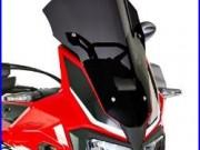 Bulle Sport Ermax Honda Africa Twin CRF 1000 L 16-18 fumé foncé Bulle Saute Vent