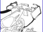 CADRE POUR VALISES LATÉRAL MONOKEY HONDA 750 XRV Africa Twin 1993-2003