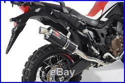 CRF1000 Africa Twin de cat Echappement System + silencieux inox noir BN30R
