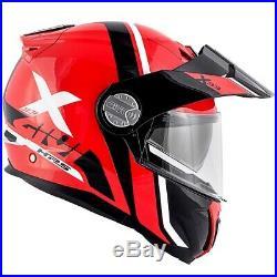 Casque GIVI X. 33 Division Rouge Noir Honda Africa Twin Crosstourer CB500X