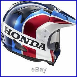 Casque de moto Arai Tour X4 Honda Twin Africa Visière supplémentaire en option