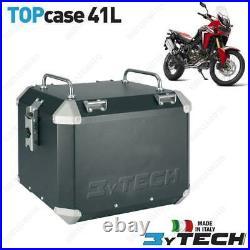Coffre Mytech Aluminium Noir 41 L Honda 1000 Crf L Africa Twin 16/17