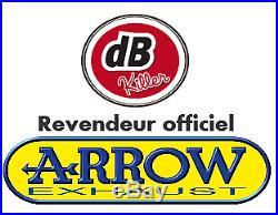 Collecteur Arrow Racing Honda Crf 1100 L Africa Twin / Adventure Sports 2020