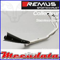 Collecteur Remus 2-1 inox avec pare-chaleur Honda CRF 1000 L Africa Twin 2016 +