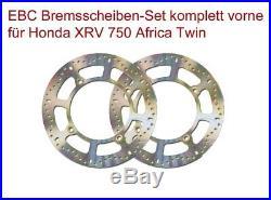 EBC Bremsscheiben-Set 2xmd6102 avant Honda XRV 750 Africa Twin Rd04 Rd07