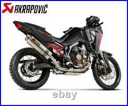 Echappement Complete Racing Titane Collecte Inox HONDA CRF1100L Africa Twin 2020