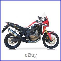 Echappement IXIL Hexoval Xtrem Inox Honda Crf 1000 L Africa Twin 16-17 Oh6074vse