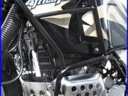 Fehling Sturz-Bügel Zub. Für Honda XRV 750 Africa Twin 93-03 sc. Schutz-Bügel