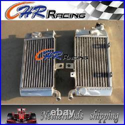 For HONDA XRV750 XRV 750 AFRICA TWIN Aluminum Radiator + Red Silicone Hose