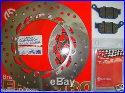 Frein à Disque Brembo + Plaquettes Arrière Honda 750 XRV Africa Twin 1996 1997
