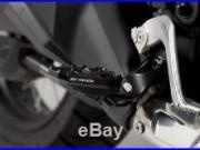 Fußrastenverbreiterung Honda CRF 1000 L Africa Twin 15- schwarz