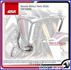 GIVI moteur Guard Inox 25 mm diameter acier tube Honda CRF1000L Africa Twin 16
