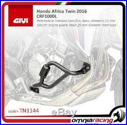 GIVI moteur Guard noir 25 mm diameter tube Honda CRF1000L Africa Twin 2016 16
