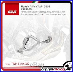 GIVI moteur Guard silver 25mm diameter tube Honda CRF1000L DCT Africa Twin 16