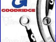 Goodridge Kit Flexibles De Frein Acier Avant Arrière Honda Africa Twin 750 1998