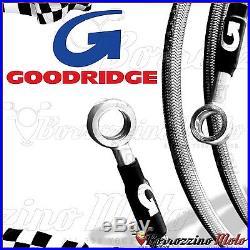 Goodridge Kit Flexibles De Frein Acier Avant Arrière Honda Africa Twin 750 2001