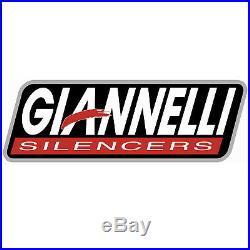 Giannelli Echappement Hom Maxi Oval CC Noir Honda Crf 1000 L Africa Twin 2017 17