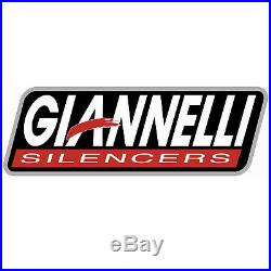 Giannelli Silencieux Hom Maxi Oval CC Noir Honda Crf 1000 L Africa Twin 2016 16