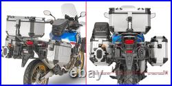 Givi Case V47n + Valise Laterale Outback Obkn48a Honda Africa Twin Adv-s 2018 18