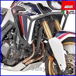 Givi Tnh1144 Pare-moteur Tubulaire Haut Noir Honda Crf1000l Africa Twin (16)