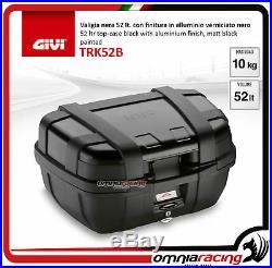 Givi Top Case Valise TRK52B TREKKER Blk + plaque HONDA AFRICA TWIN 750 9092