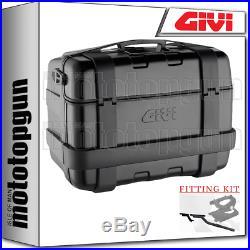 Givi Valise Monokey Trk46b Trekker Noir For Honda Africa Twin 750 2000 00