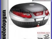 Givi Valise Top Case Monokey E55n Maxia-3 Pour Honda Africa Twin 750 2000 00
