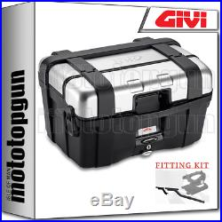 Givi Valise Top Case Monokey Trk46n Trekker For Honda Africa Twin 750 1995 95